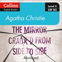 mirror crack'd from side to side: Level 4 - upper- intermediate (B2) (Collins Agatha Christie ELT Readers) - Agatha Christie - audiobook