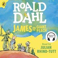 James and the Giant Peach - Roald Dahl - audiobook