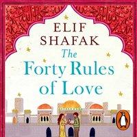 Forty Rules of Love - Elif Shafak - audiobook