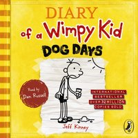 Diary of a Wimpy Kid: Dog Days (Book 4) - Jeff Kinney - audiobook