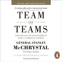 Team of Teams - General Stanley McChrystal - audiobook