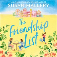 Friendship List - Susan Mallery - audiobook