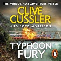 Typhoon Fury - Clive Cussler - audiobook