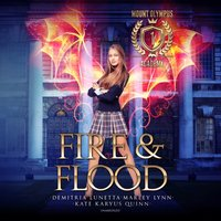 Fire & Flood - Kate Karyus Quinn - audiobook