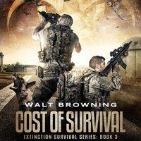 Cost of Survival - Walt Browning - audiobook