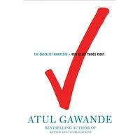 Checklist Manifesto - Atul Gawande - audiobook