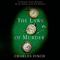 Laws of Murder - Charles Finch - audiobook