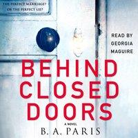 Behind Closed Doors - B. A. Paris - audiobook