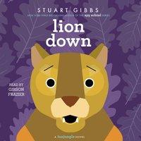 Lion Down - Stuart Gibbs - audiobook