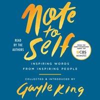 Note to Self - Gayle King - audiobook
