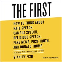 First - Stanley Fish - audiobook