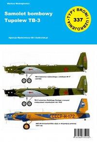 Samolot bombowy TB-3 - Mariusz Wołongiewicz - ebook