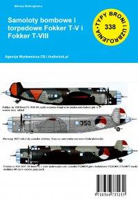 Samoloty bombowe i torpedowe Fokker T-V iFokker T-VIII - Mariusz Wołongiewicz - ebook