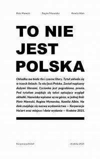 To nie jest Polska - Regina Mynarska - ebook