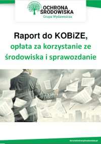 Raport do KOBiZE, opłata za korzystanie ze środowiska i sprawozdanie odpadowe - Praca Zbiorowa - ebook