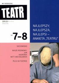 Teatr 7-8/2020 - Opracowanie zbiorowe - eprasa