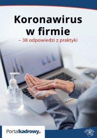 Koronawirus w firmie – 38 odpowiedzi na pytania pracodawców - Szymon Sokolik - ebook
