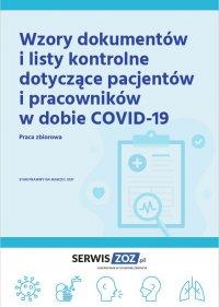 Wzory dokumentów i listy kontrole dotyczące pacjentów i pracowników w dobie COVID-19 - praca zbiorowa - ebook