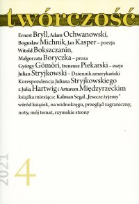 Twórczość 4/21 - Opracowanie zbiorowe - eprasa