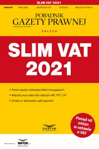 SLIM VAT 2021 - Tomasz Krywan - ebook