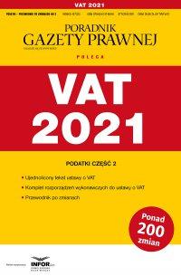 VAT 2021 - Opracowanie zbiorowe - ebook