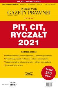 PIT, CIT, Ryczałt 2021 - Opracowanie zbiorowe - ebook