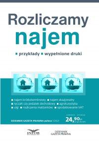 Rozliczamy najem - Radosław Kowalski - ebook