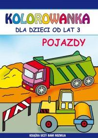Pojazdy. Kolorowanka dla dzieci od lat 3 - Emilia Majchrzyk - ebook