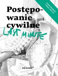 Last Minute postępowanie cywilne maj 2021 - Bogusław Gąszcz - ebook