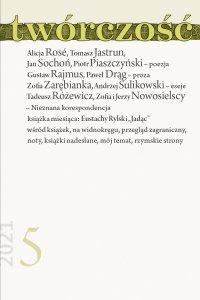 Twórczość 5/21 - Opracowanie zbiorowe - eprasa