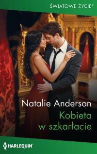 Kobieta w szkarłacie - Natalie Anderson - ebook