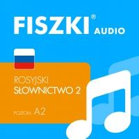 FISZKI audio – rosyjski – Słownictwo 2 - Kinga Perczyńska - audiobook