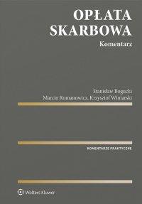 Opłata skarbowa. Komentarz - Stanisław Bogucki - ebook