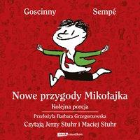 Nowe przygody Mikołajka. Kolejna porcja (wydanie 2021) - René Goscinny - audiobook