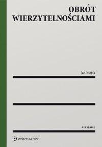 Obrót wierzytelnościami - Jan Mojak - ebook