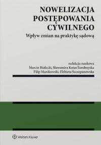 Nowelizacja postępowania cywilnego. Wpływ zmian na praktykę sądową - Marcin Białecki - ebook