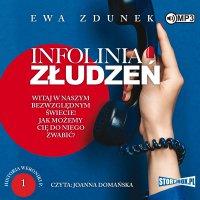 Historia Weroniki P. Tom 1. Infolinia złudzeń - Ewa Zdunek - audiobook