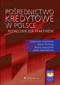 Pośrednictwo kredytowe w Polsce – podręcznik dla praktyków - Eugeniusz Gostomski - ebook