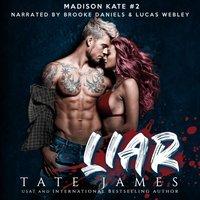 Liar - Tate James - audiobook