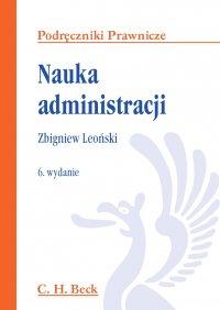 Nauka administracji - Zbigniew Leoński - ebook