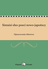 Sintaisi-sho: poeci nowo-japońscy