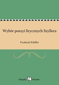 Wybór poezyi lirycznych Szyllera
