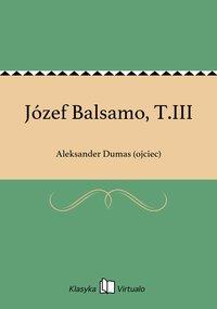 Józef Balsamo, T.III