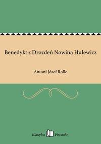 Benedykt z Drozdeń Nowina Hulewicz