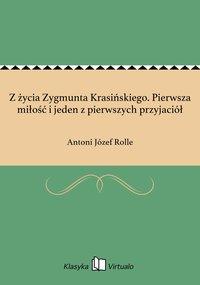 Z życia Zygmunta Krasińskiego. Pierwsza miłość i jeden z pierwszych przyjaciół