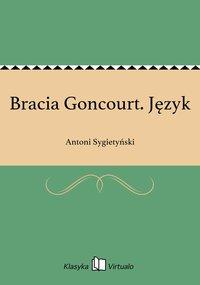 Bracia Goncourt. Język