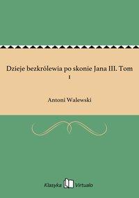 Dzieje bezkrólewia po skonie Jana III. Tom 1