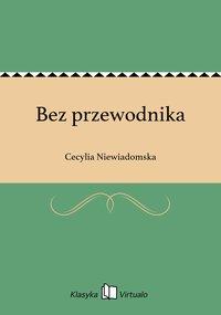Bez przewodnika - Cecylia Niewiadomska - ebook