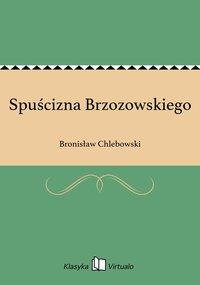 Spuścizna Brzozowskiego