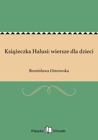 Książeczka Halusi: wiersze dla dzieci